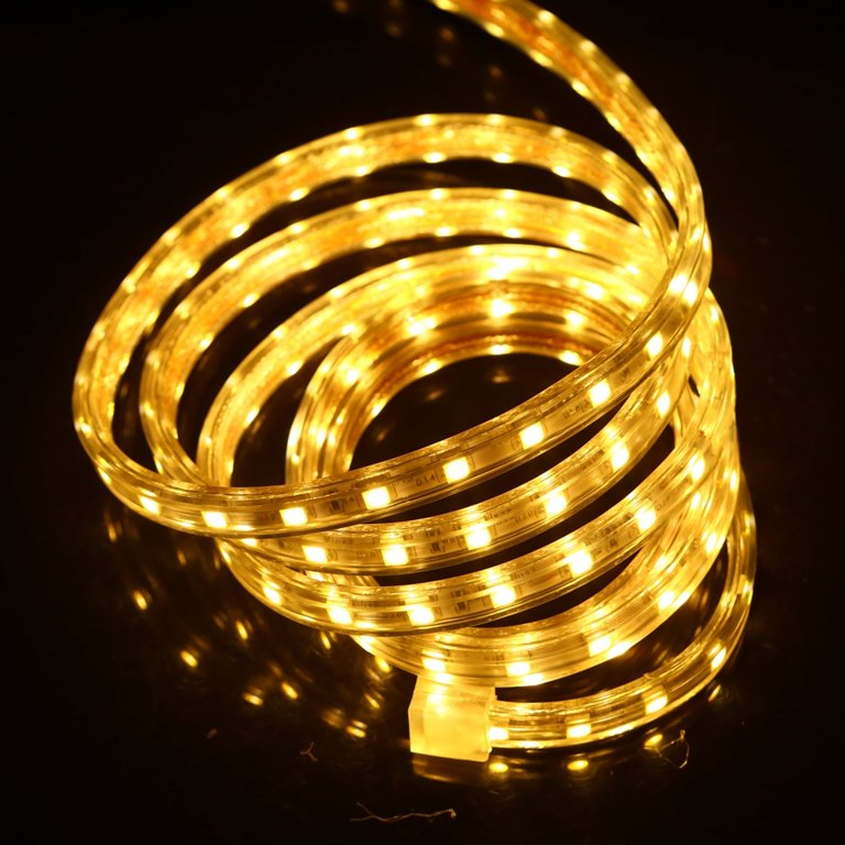 LED lenta silikonā plakana (mitrumizturīga)