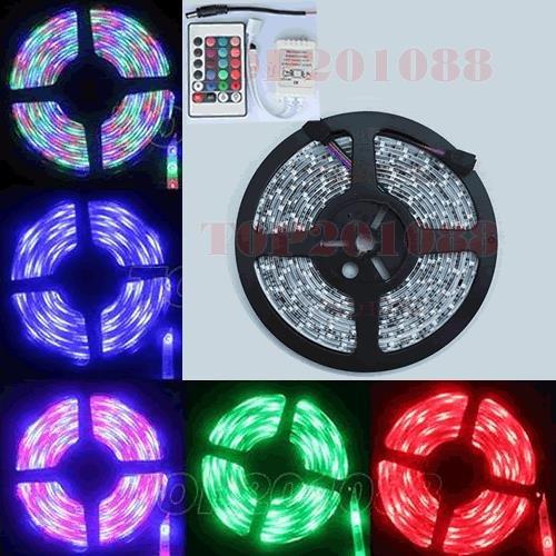 LED RGB lentas komplekts (mitrumizturīgs) 12V