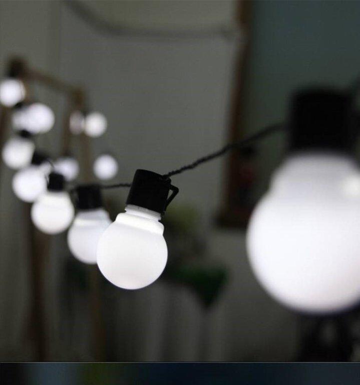 5m globe LED virtene