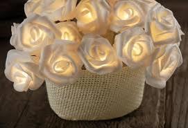 LED rozītes ar bateriju