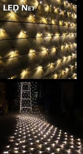 "LED lampiņu ""tīkls"""