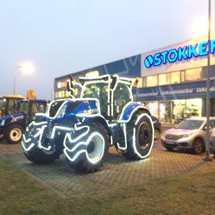 Stokker svētku traktors